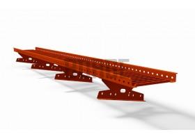 Переходный мостик BORGE для МЧ с высокой ступенькой 3 м (тип 1)