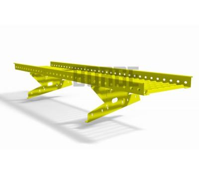 Различный цвет  Переходные мостики -  Переходный мостик BORGE для МЧ с высокой ступенькой 1,5 м (тип 2)