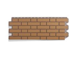Панель фасадная Альта Профиль Кирпич клинкерный бежевый 1220х440 мм