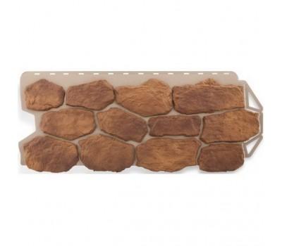 Различный цвет  Бутовый камень -  Панель фасадная Альта Профиль Бутовый камень Скифский 1130х470 мм