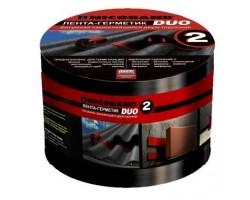 Лента герметизирующая Nicoband Duo 10мх10см чёрная двухсторонняя самоклеящаяся