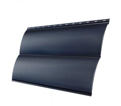 Различный цвет  Grand Line Блок-хаус Pe 0,5 -  Сайдинг Grand Line Блок-хаус Pe 0,5 мм Ral 7024 резка