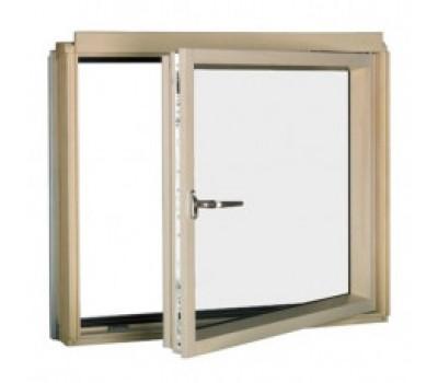 Различный цвет  Карнизные окна -  Карнизное окно Fakro BDR L3/P2 (ручка слева) 78х75 с комбинированной системой открывания: боковое (до 90°) и откидное (максимально до 11 см)