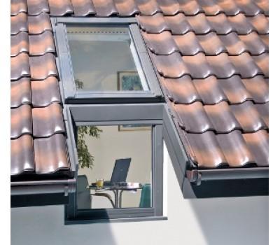 Различный цвет  Карнизные окна -  Изоляционные оклад Fakro EUV/B 78х140/75 универсальный для карнизного комплекса окон