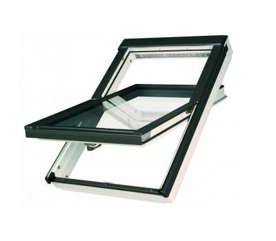Различный цвет  Окна Electro / Z-Wave -  Окно мансардное Fakro FTU-V U3 Z-wave LUX 55х78