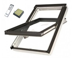 Окно мансардное Fakro РТР U3 Z-Wave Lux ПВХ 66x98