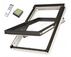 Окно мансардное Fakro РТР U3 Z-Wave Lux ПВХ 66x118