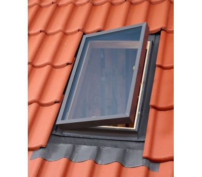 Различный цвет  Выходы на крышу Velux -  Аварийный выход на кровлю Velux VLT 1000 45х55см не жилой чердак