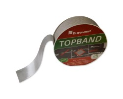 Eurovent TOPBAND односторонняя лента из нетканного полипропилена, для склеивания мембран 50мм*25м