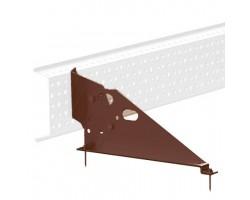 Крепеж дополнительный к снегозадержателю сетчатому на металлочерепицу VLE.7 L=2,46 м (3 шт.) ORIMA