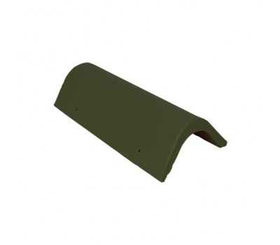 Различный цвет  Доборные элементы Sea Wave -  Торцевая цементно-песчаная черепица (универс.) Baltic Tile Sea Wave