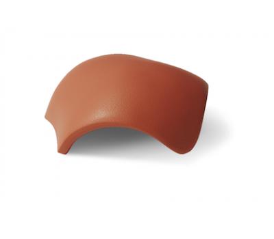 Различный цвет  Доборные элементы BRAAS | Браас -  Вальмовая черепица (колоколообразная) BRAAS
