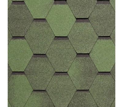 Tegola Нордик   Тегола Нордик зеленый с отливом