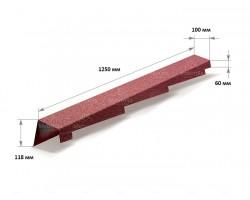 Торцевая планка левая L=1250 мм Metrotile