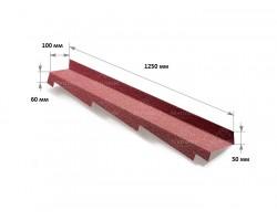 Примыкание боковое левое L=1250 мм Metrotile