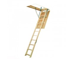 Чердачная деревянная лестница Fakro LWS Plus 70*130*305