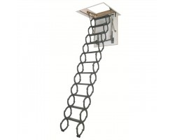 Металлическая термоизоляционная лестница Fakro LST 60*120*260-280