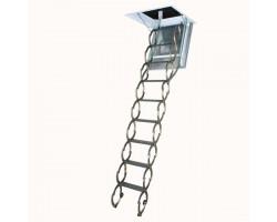 Лестница металлическая огнестойкая Fakro LSF 70*80*280-300