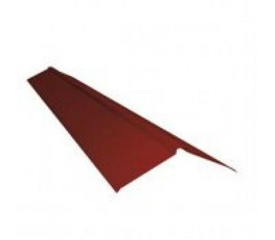Различный цвет  Комплектующие Ruukki | Руукки -  Коньковая планка плоская 2000 мм