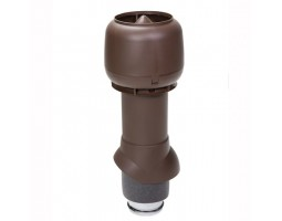 Труба изолированная вентиляционная с колпаком 125/160 H=500 мм Vilpe
