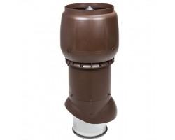 Труба изолированная вентиляционная с колпаком XL-250/300 H=700 мм Vilpe