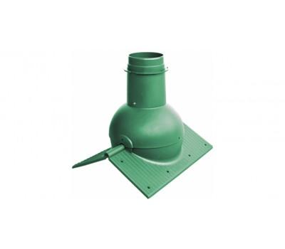 Различный цвет  Кровельные вентили Krovent -  Коньковый вентиль Krovent Pipe-Cone зеленый