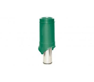 Различный цвет  Вентиляционные выходы Krovent -  Выход вентиляции Krovent Pipe-VT 125 зеленый