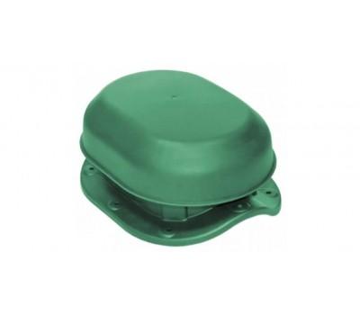 Различный цвет  Аэраторы Krovent -  Аэратор скатный Krovent Aero-Vent Wave зеленый