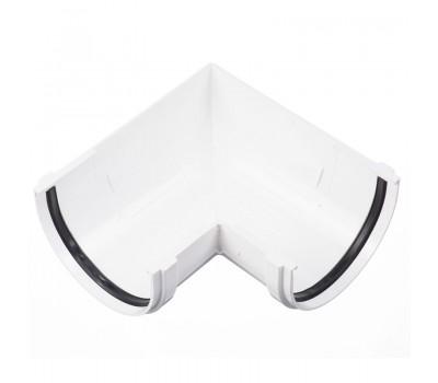 Различный цвет  Водосточная система Docke Lux 141/100 -  Внешний угол жёлоба 90 градусов Docke | Дёке Lux