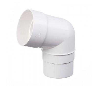 Различный цвет  Водосточная система Docke Standart 120/85 -  Отвод трубы 45 градусов Docke | Дёке standart