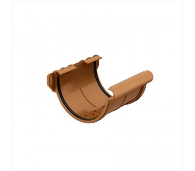 Различный цвет  Водосточная система Galeco 124/80 -  Соединитель жёлоба Galeco | Галеко 124мм