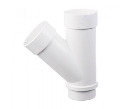 Различный цвет  Водосточная система Docke Lux 141/100 -  Тройник 45 градусов Docke | Дёке Lux