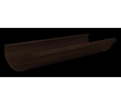 Различный цвет  Водосточная система Aquasystem 125/90 -  Желоб водосточный 3м Aquasystem 125мм