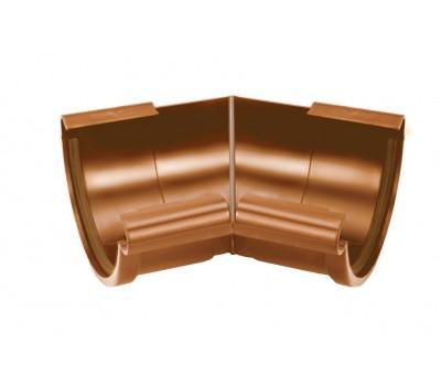 Различный цвет  Водосточная система Galeco 124/80 -  Внутренний угол жёлоба 135 градусов Galeco | Галеко 124мм
